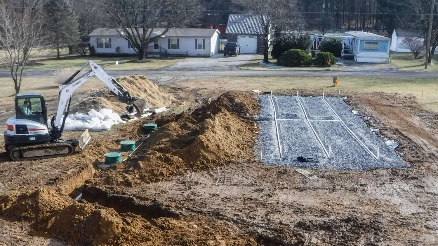 Conventional & Sand Mound Septic Systems
