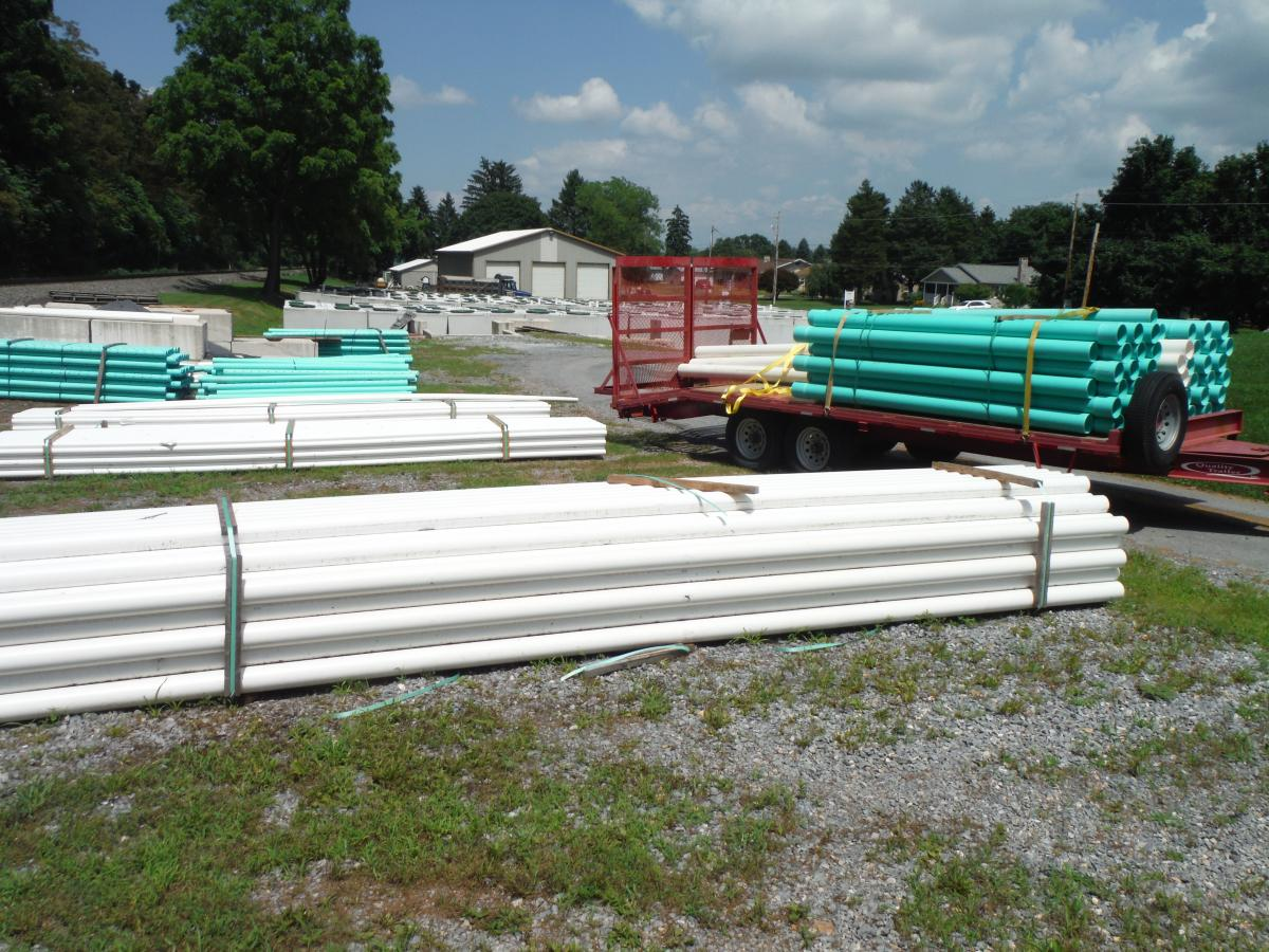 PVC Pipe Inventory